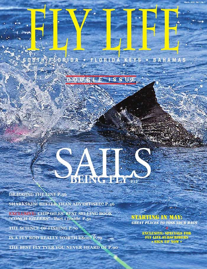 New salt water fly mag fly life magazine for Saltwater fly fishing magazine