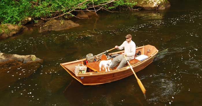 Sweet fly fisher skiff for Chicago fly fishing