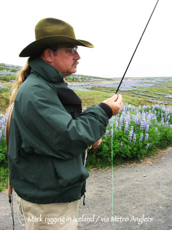 Chi wulff s people of fly fishing 10 questions with mark for Fly fishing houston