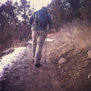 m hike