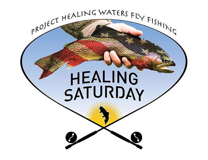 Phwff healing saturday in select fly shops today for Healing waters fly fishing