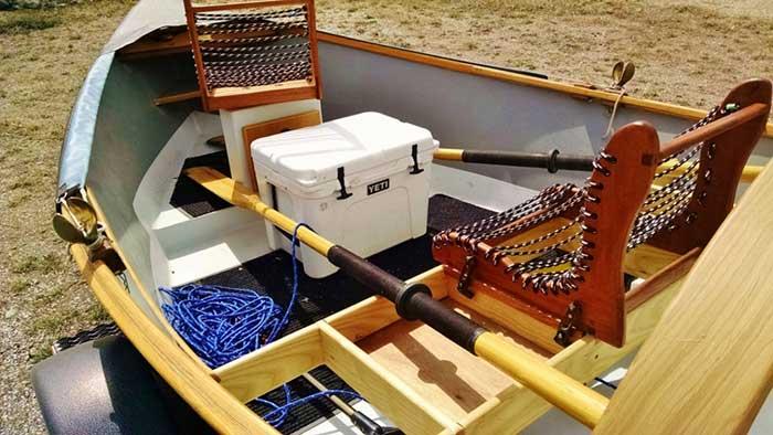 Chi Wulffs Wooden Boat Shop 10 April Montana Woodglass Drifter